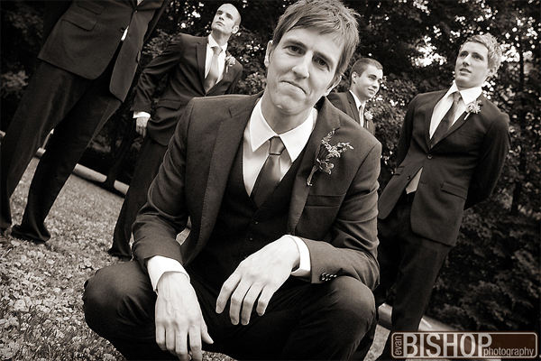 Historic Oakland Manor Columbia, MD Wedding Groomsmen by Evan Bishop