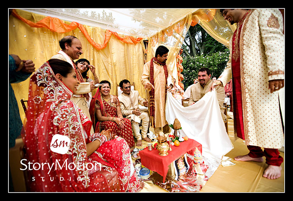 Indian Wedding Ceremony Antrim 1844 by Storymotion Studios