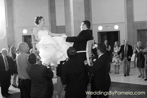 Reagan Building Jewish Wedding DJ by Pamela Lepold