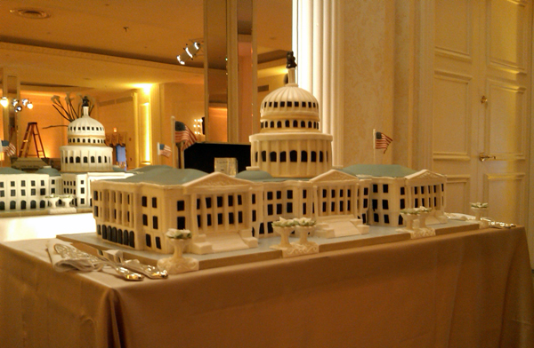United States Capitol Wedding Cake