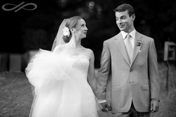 Woodend Sanctuary Wedding Bride and Groom by Jay Premack