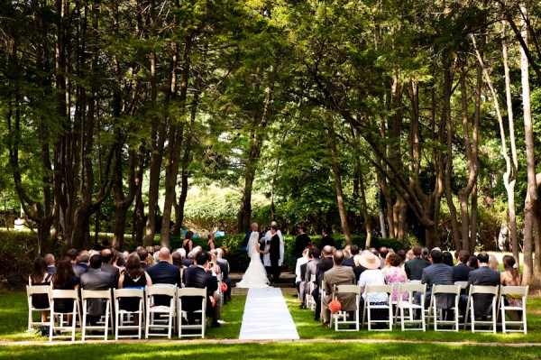 Woodend Sanctuary Wedding Ceremony by Vesic Photography