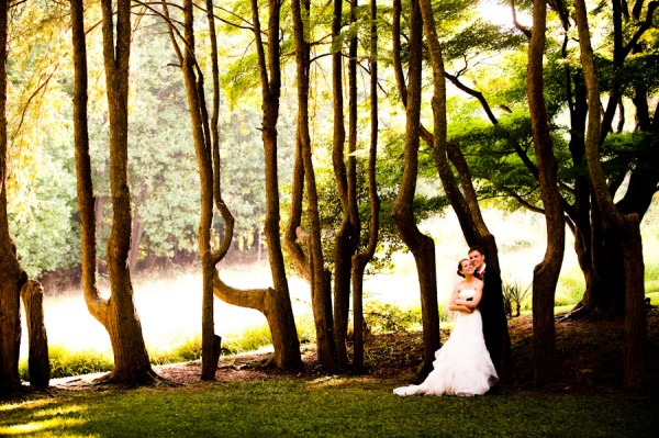 Woodend Sanctuary Wedding Couple by Vesic Photography