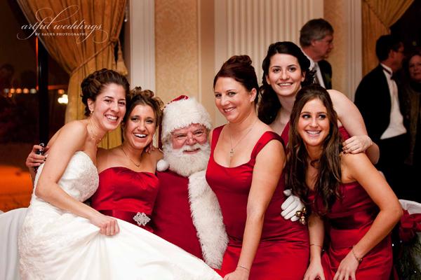 Baltimore Wedding Snow 2009 by Anne Sachs Artful Weddings
