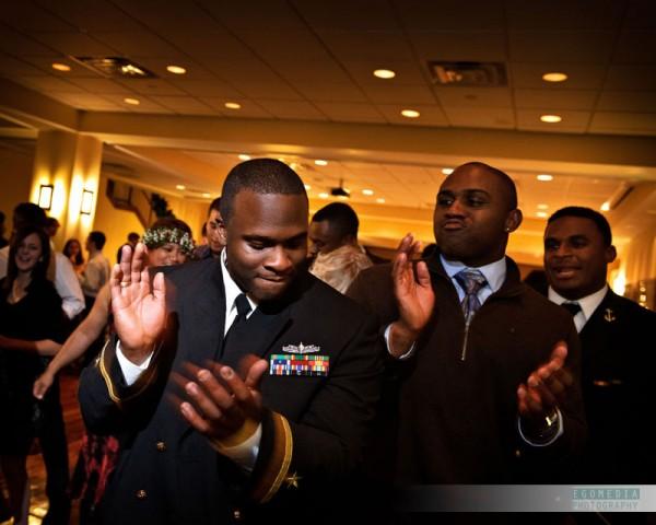 Naval Academy Navy Stadium Wedding DJ by egomedia photography