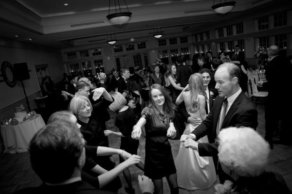 Dancing Wedding Chesapeake Bay Beach Club Snow by John Waire