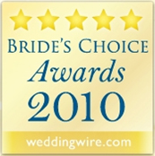 WeddingWire 2010 Bride's Choice Award Logo