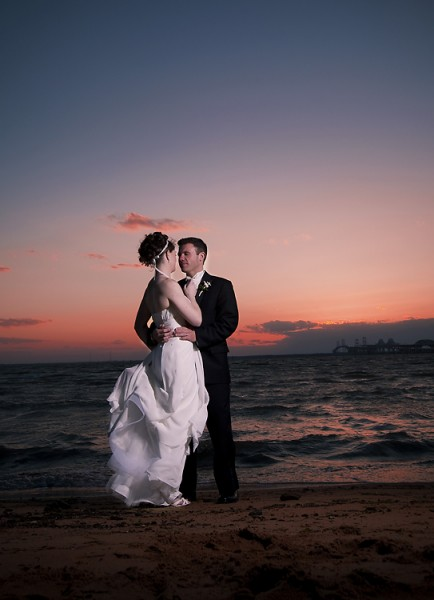 Chesapeake Bay Beach Club Wedding, Photography by Larry Huffman