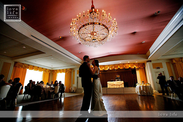 Columbia Country Club Wedding Dance