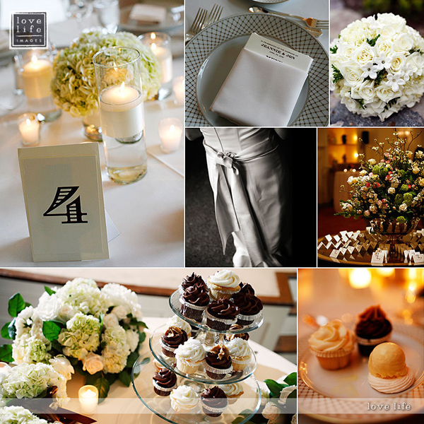 Wedding Details, Columbia Country Club in Maryland