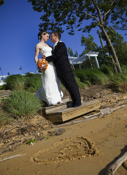 Wedding Photo - Chesapeake Bay Beach Club