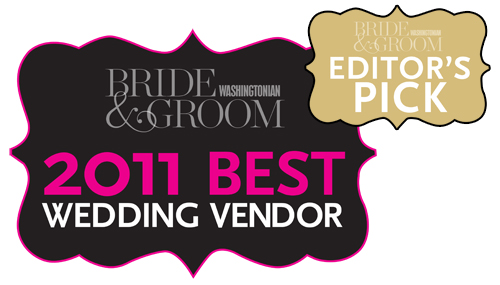 Washingtonian Bride & Groom Magazine 2011 Editor's Pick