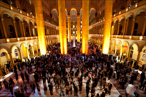Corporate Events - National Building Museum, photo by Geoff Chesman