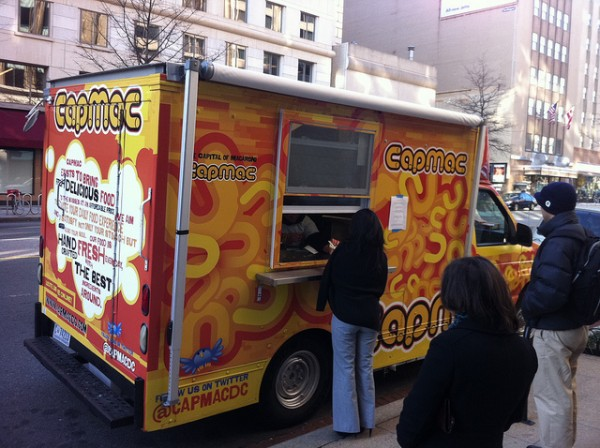 The Capital Macaroni truck