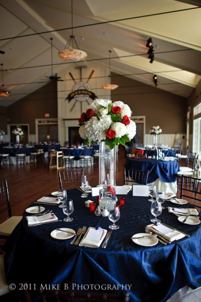 Patriotic wedding theme