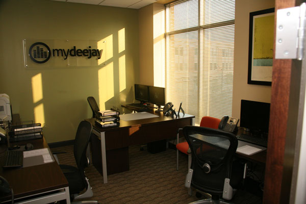 MyDeejay office space