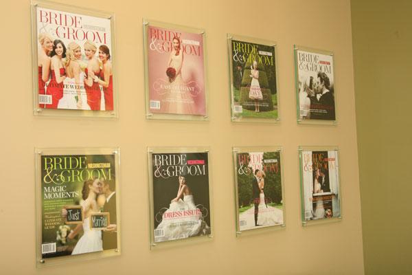 Washington Bride and Groom magazines