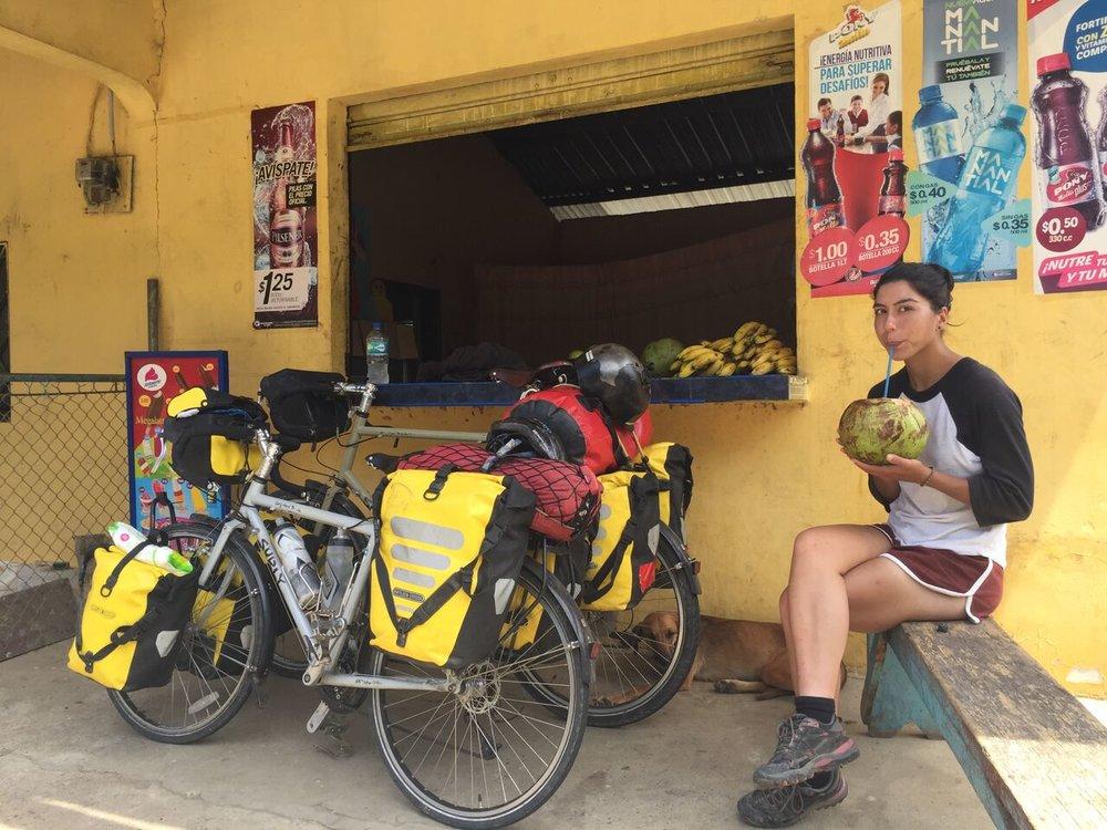 A pit stop in Ecuador