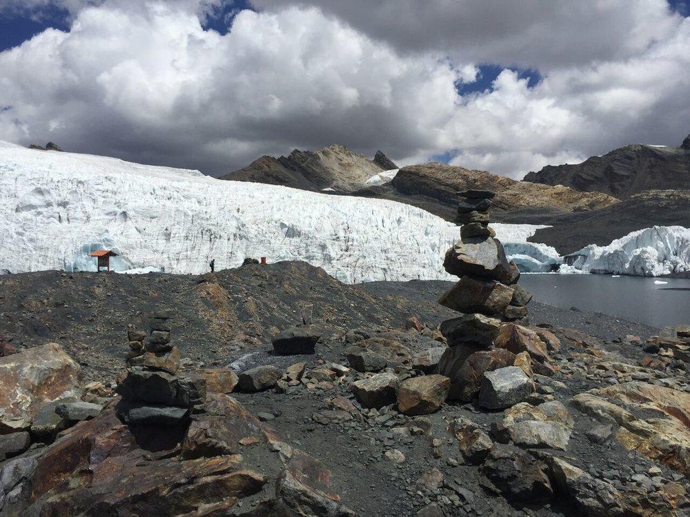 Peru's Pastoruri Glacier