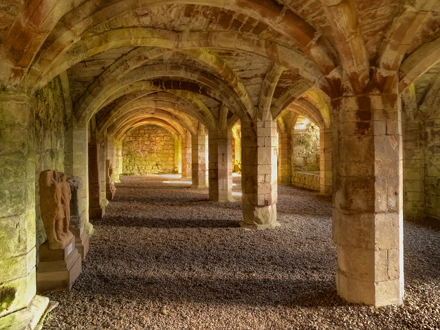 Lanercost Priory Cloisters ©   David Dixon