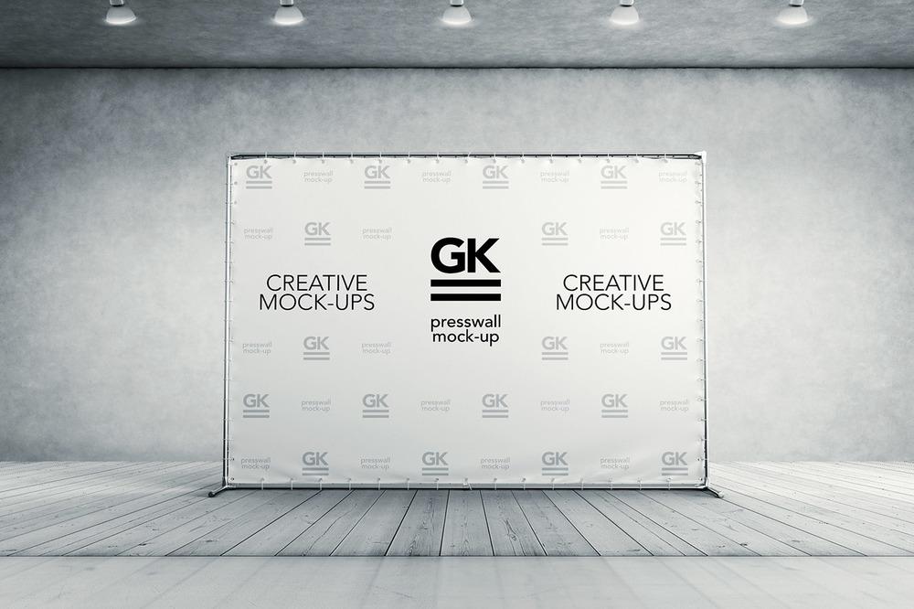 3D Press Wall / Banner [7$]