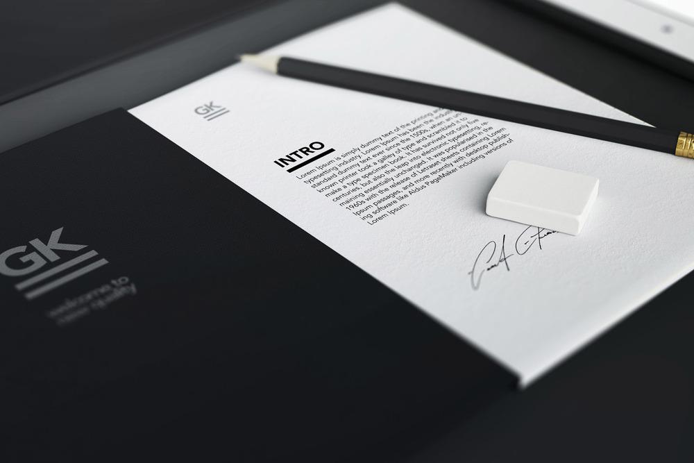 Stationery / Branding / Identity [8$]
