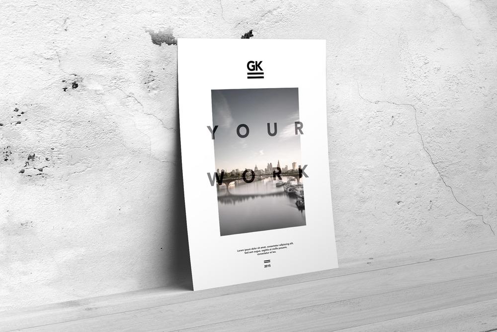 A4 / A5 / Flyer / Poster [6$]