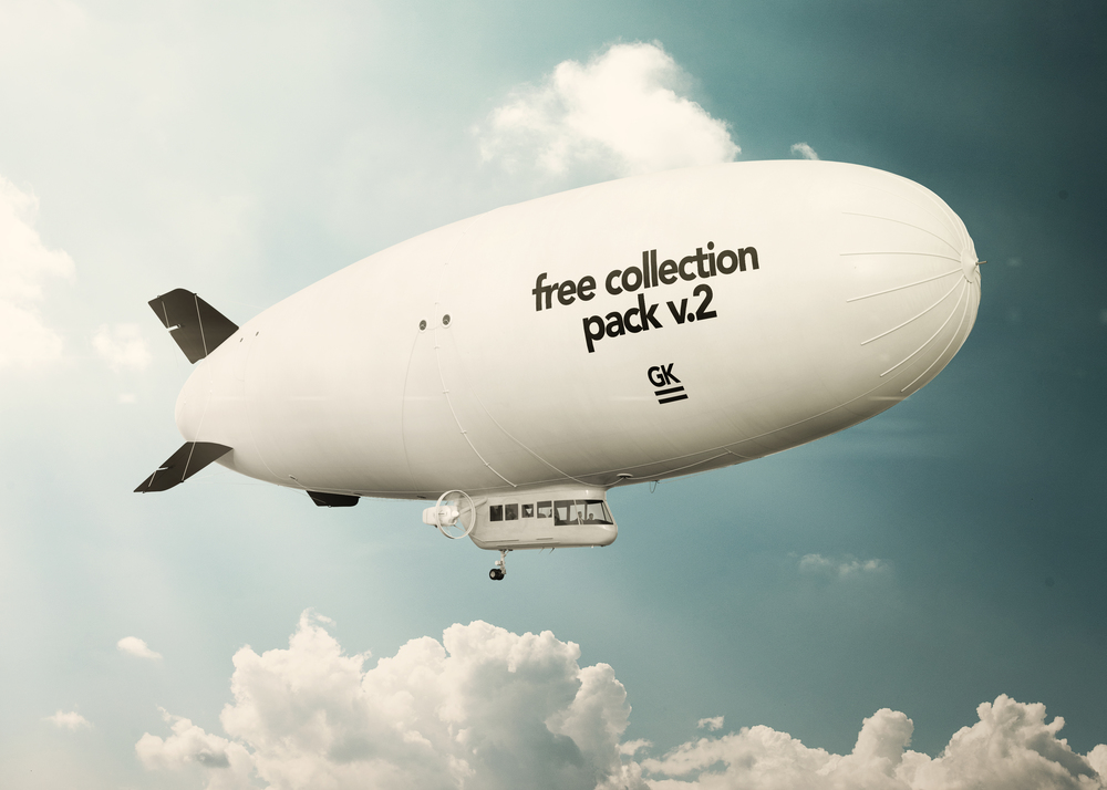 Full item Realistic 3D Zeppelin Mock-ups / Dirigible Mock up you can buy  here .