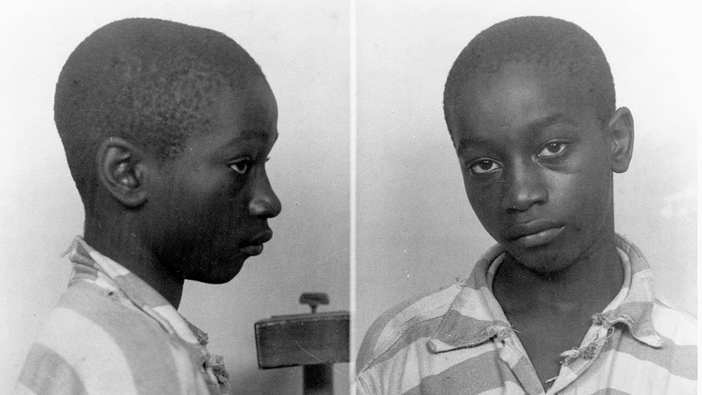 George Stinney's Mugshot. Taken in Spring of 1944, when George was only fourteen years old.