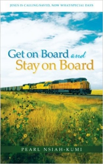 GET ON BOARD AND STAY ON BOARD - Get on Board and Stay on Board contains poems, articles, and short Bible studies. It is directed toward unbelievers and believers alike. It is designed to lead the unbeliever to faith in Jesus Christ, and then help him or her in a spiritual journey. Articles and poems in section one of the book clearly challenge unbelievers about their need for salvation and admonish them to prepare for eternity before it is too late by accepting Jesus' offer of salvation through His shed blood. There is emphasis on good works not being good enough to save; only the blood of Jesus is good enough to appease God's wrath. Whether people agree or disagree with God does not change the facts. God is God, and He laid down the rules. It also stresses the point that hell is by choice; one can avoid going there by believing in Jesus Christ.The articles in section two cover different aspects of the Christian walk, including prayer, obedience, fellowship, witnessing, and eternity.Section three is general and covers holy days, celebrations, and responsibility toward government. In addition, believers will find these articles helpful in their personal walk and in use as a good witnessing and follow-up tool for evangelism.