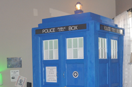 My TARDIS 2015.   RENT ME