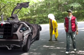 Screenshot from our Back to the Future Rules Video.