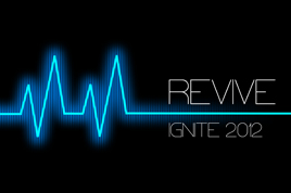 2012 ignite camp logo.
