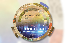 2013 ignite camp logo.