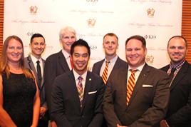Phi Kappa Theta staff 2016.