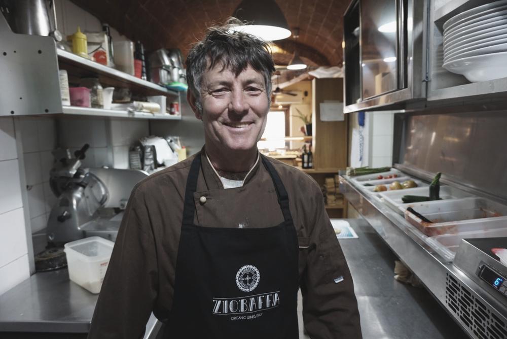Andrea Donati (Executive Chef nella cucina della Pasticceria Enoteca Ferretti)