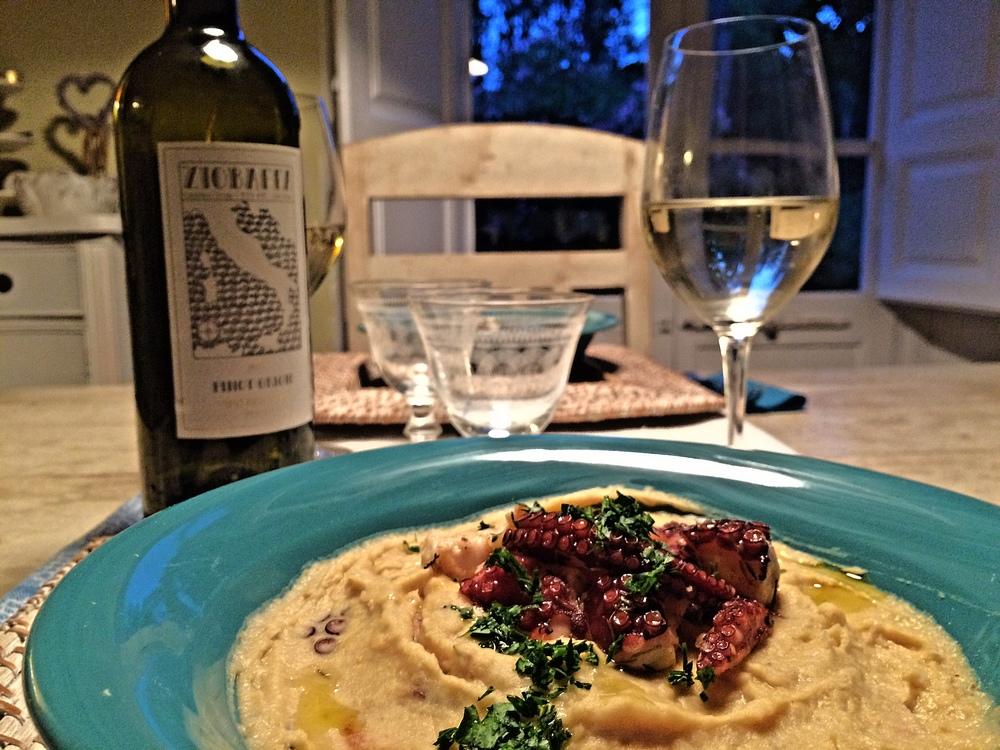 Gustatevi questo piatto assieme al nostro ZIOBAFFA Pinot Grigio da agricoltura biologica