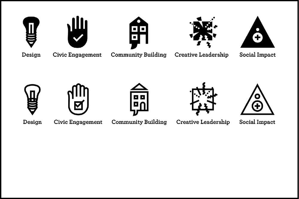 Icons, draft 1