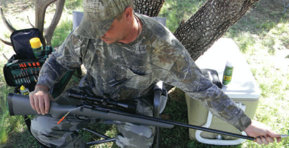 HOW TO KEEP YOUR GUN CLEAN Your new firearm has some needs. Ownership comes with the responsibility of keeping your gun in top working condition for safe hunting, as well as overall maintenance to keep it looking like that sweet, shiny gun you chose out of the gun shop. Long hunting seasons and time spent afield either in poor weather or overly hot conditions can wreck your trusted field friend by accelerating the development of unwanted corrosion.