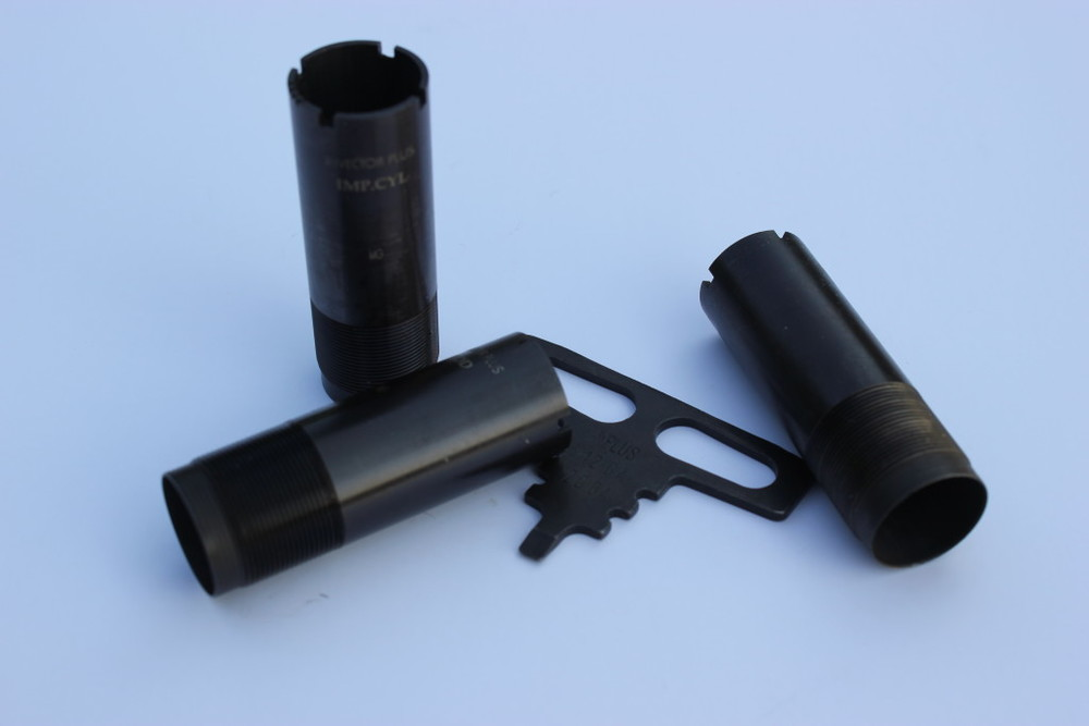 "Interchangeable choke tubes are a great aid in shotgunning, but you need to understand how constriction works. Steel shot requires a more ""open"" choke to create the same results, so a tube that is rated IC for lead shot will produce a pattern that is tighter (more like Modified) with steel."