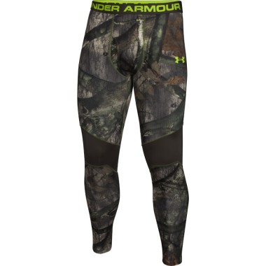 Base layer clothing, like these pants from Under Armour, are critical when hunting in cold conditions. They trap heat close to the body, yet wick away moisture.