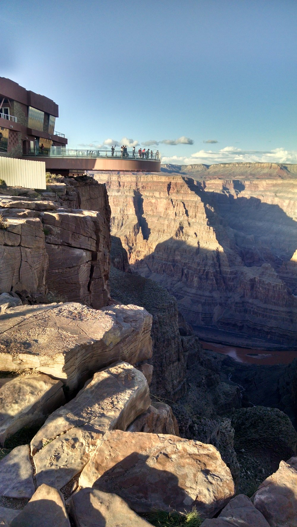 GRAND CANYON SKYWALK! Just a 2 1/2 hour car ride...
