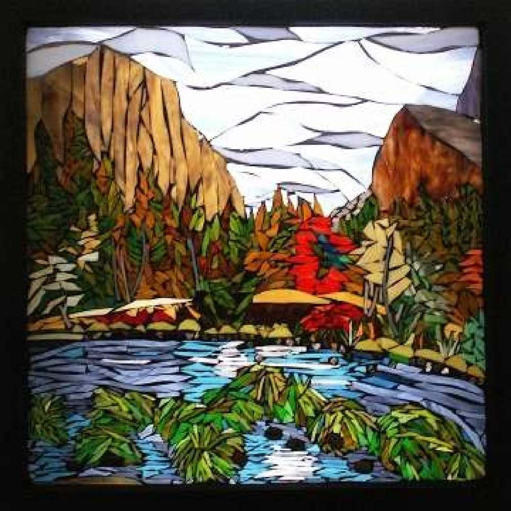 Chris Heisinger, Stained Glass Mosaics