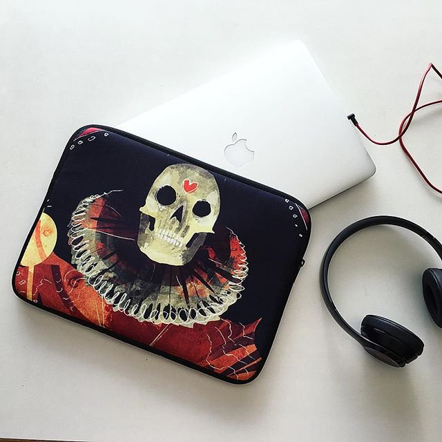 Ancient Queen Laptop Sleeve Available  HERE
