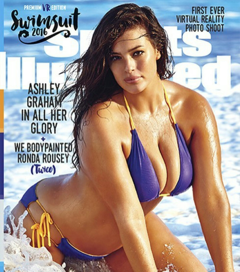 Ashley Graham on the cover of Sports Illustrated Swimsuit Edition
