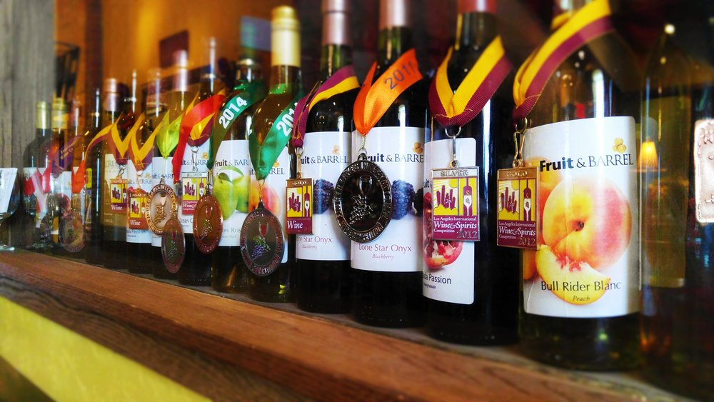 Wine Tasting - Enjoy a wine tasting and try our favorite award winning wines!