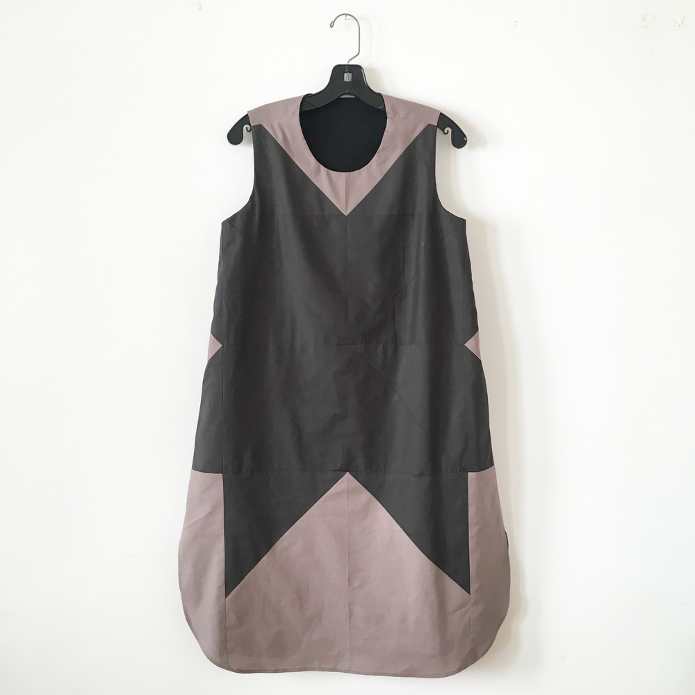 Sawtooth dress