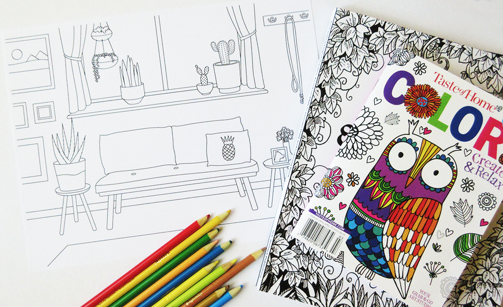 Coloring Books For Adults Printout
