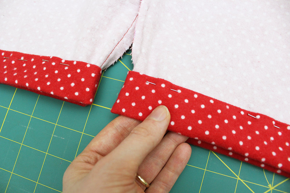 Hemming DIY Flannel Pajama Bottoms