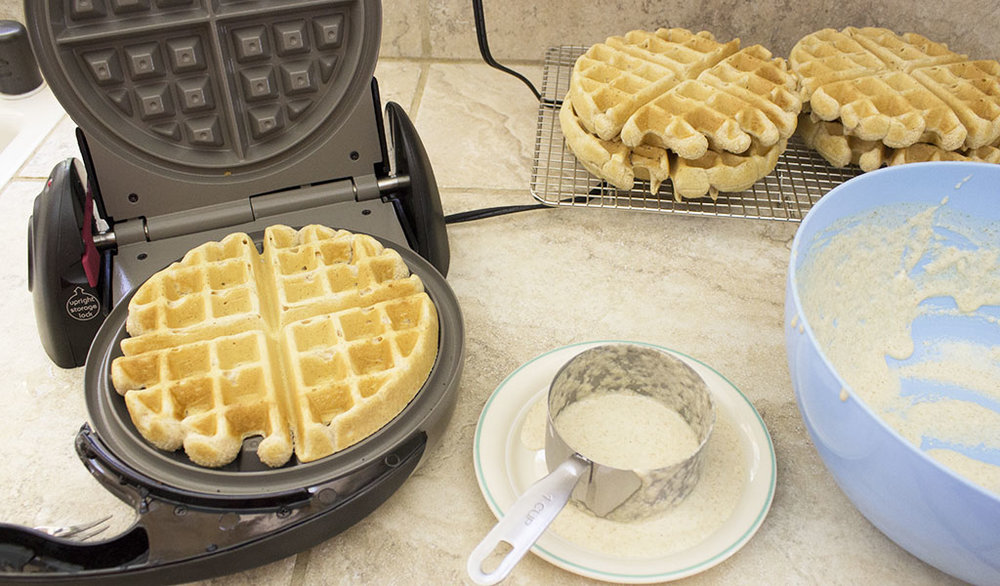 My Favorite Vegan Waffles + Two Ways To Top Waffles